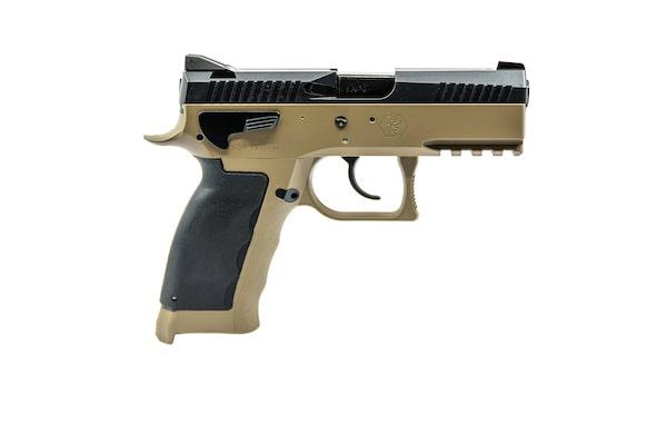 SPHINX-SDP-Tactical-Polymer-Sandfarbig-Entspannhebel-rechte-Waffenseite-min